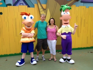 Phineas and Ferb, Disney's Hollywood Studios