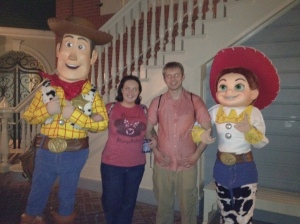 Woody and Jesse, One More Disney Day